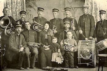 South African Salvation Army band