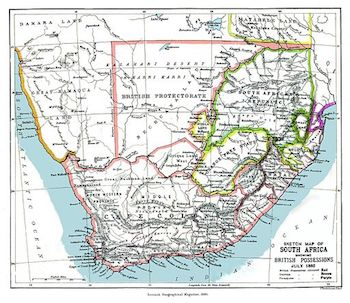 19th Century Africa Map.British Colonies In Africa History Map Study Com