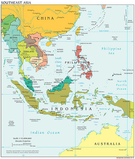 Map Of Asia Landforms.Major Landforms Of Southeast Asia Study Com