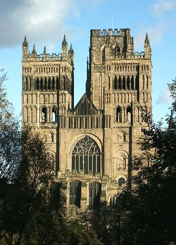 durham cathedral in england architecture exterior