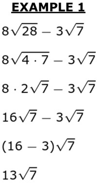 subtracting square roots  studycom square root subtraction through factoring of radicals