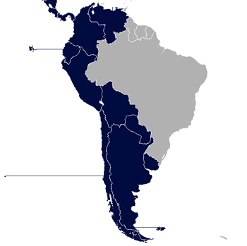 Spanish speaking countries capitals video lesson transcript south american spanish speaking countries gumiabroncs Choice Image