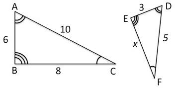 Quiz & Worksheet - Properties of Similar Triangles | Study.com