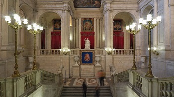 Abundant Noble Materials Used In The Main Staircase