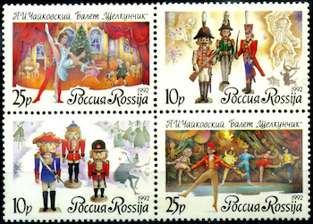 Russian Nutcracker stamps