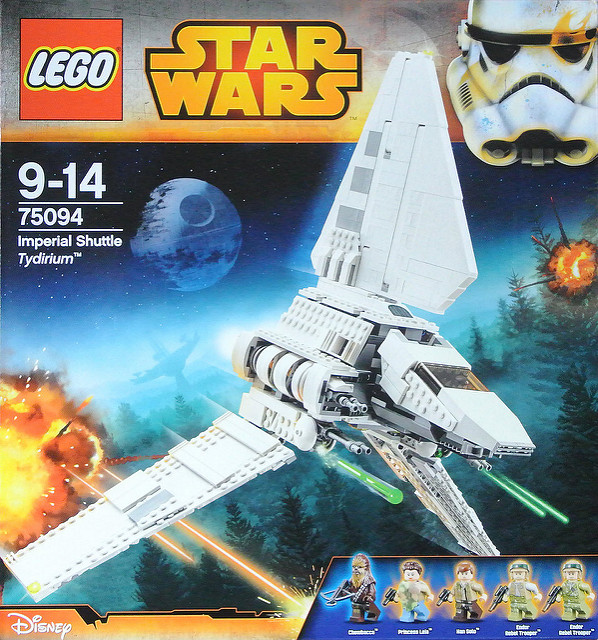 A Star Wars Lego toy is an example of Licensing