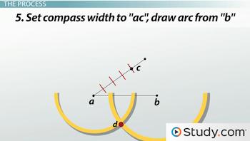 Dividing Line Segments into Equal Parts: Geometric