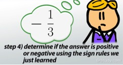 math worksheet : multiplying negative fractions  video  lesson transcript  study  : Multiplying Negative Fractions