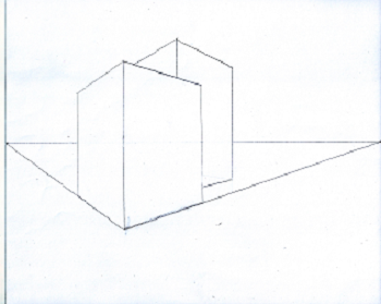 TwoPoint Perspective Drawing Definition Examples Video - 2 point perspective drawing