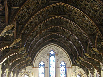 Hammerbeam Roof  History   Examples   Study