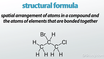 Structural Formula: Definition & Examples - Video & Lesson