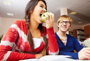Image result for eat healthy in college