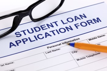 College students often apply for student loans, requiring more financial responsibility than high school.