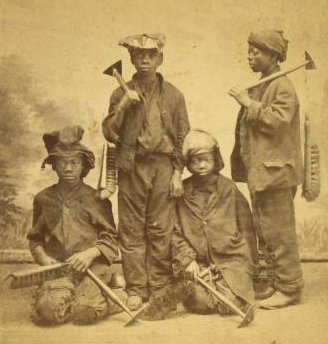 Young Chimney Sweeps in New York City
