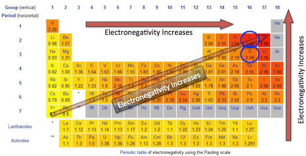 H2so3 definition lewis structure video lesson transcript electronegativity in the periodic table urtaz Choice Image