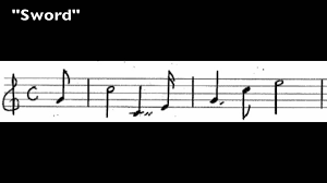 The Valkyrie sword Leitmotif