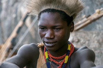 Young Hadzabe Hunter Tanzania
