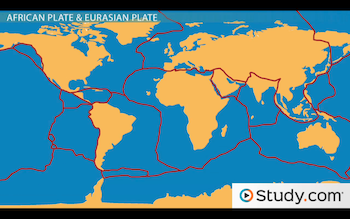 Major Plates of the Lithosphere Earths Tectonic Plates Video