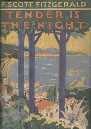 Tender is the Night First Edition Book Cover