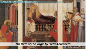 The Birth of the Virgin Lorenzetti