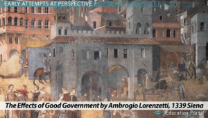 The Effects of Good Government Lorenzetti