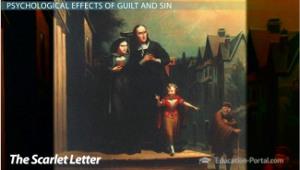 a study on the effects of sin on the heart and mind of the characters of the scarlet letter With the scarlet letter then let the magistrates, who have made it of no effect not a stitch in that embroidered letter, but she has felt it in her heart.