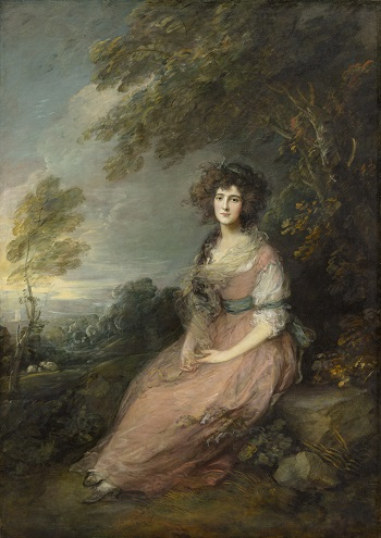 Gainsborough, Portrait of Mrs Richard Brinsley Sheridan