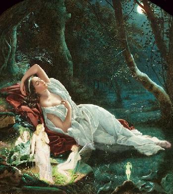 Midsummer Night S Dream Hermia Painting