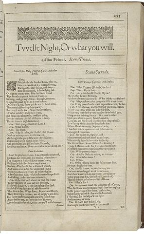 Title Page Twelfth Night
