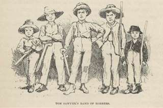 compare and contrast tom sawyer and huck finn