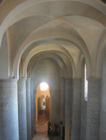 Example Of A Groin Vault Ceiling