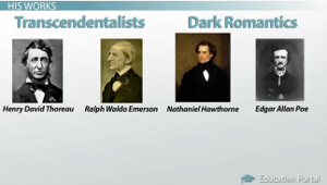 Transcendentalists Dark Romantics