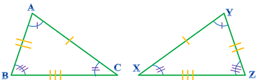 SSS Triangles with Tick Marks