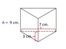 how to work out a triangular prism