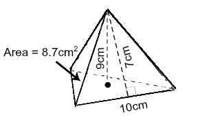 Triangular pyramid definition formula examples video triangular pyramid example ccuart Choice Image