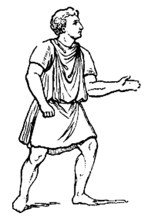 ancient greek clothing coloring pages | Ancient Greek Daily, Family & Home Life Lesson for Kids ...
