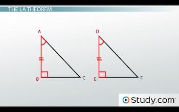 Leg Angle Theorem