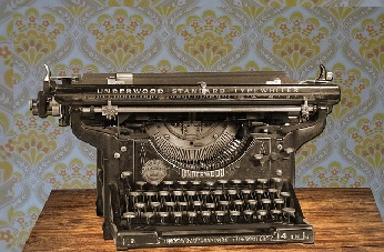 An Early Typewriter