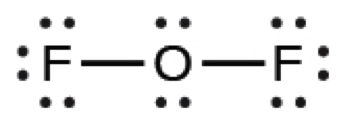 What Is The Lewis Structure Of Of2 Study Com