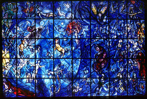 Marc Chagall. Peace Window. 1963.