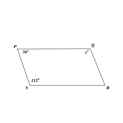 PQRS is a parallelogram with AB || PS then prove that OC