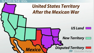 US Territory Mexican War