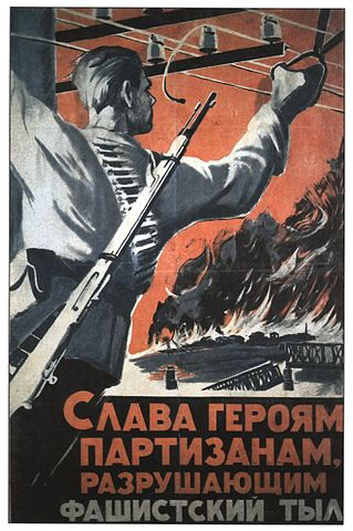 partisan poster during World War II