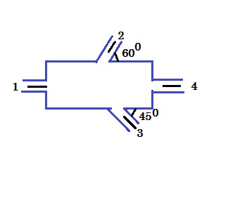 Consider steady,incompressible flow through the device shown