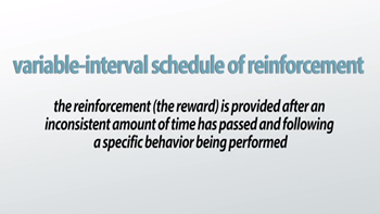 Variable Interval And The Schedule Of Reinforcement Examples