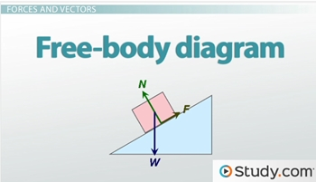 Free body diagrams video lesson transcript study vector free body diagram ccuart Images