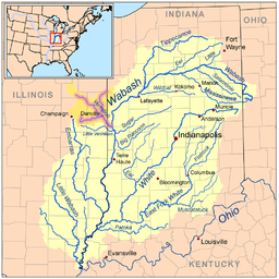 Wabash River watershed