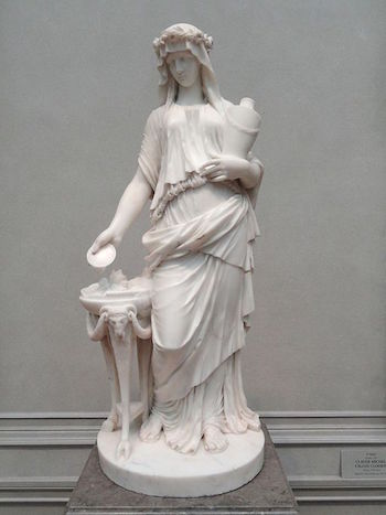 French Neoclassical Sculpture Study Com