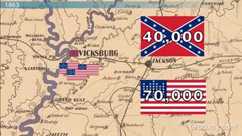 Siege Of Vicksburg Facts Summary Map Video Lesson Transcript - Vicksburg-on-us-map