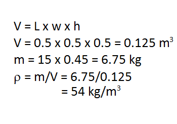 Mass and Volume: Formulas, Unit Conversion & Practice